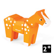 Funny Animal Kit Horse - Wooden Puzzle