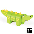 Funny Animal Kit Crocodile - Wooden Puzzle Janod
