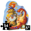 Vaillant and the dragon - 54 pieces Puzzle Djeco