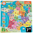 Map of France - Magnetic Puzzle (93 pieces) Janod