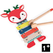 Fawn Metal Xylo - Baby Forest - Toy Music Instrument Janod