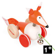 Pull-Along Fox - Zigolo - Wooden Toy Janod