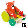 Pull-Along Xylo Bear - Zigolo - Wooden Toy Janod