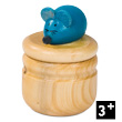 Wooden Tooth Box - Blue Mouse Janod