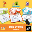 Step by Step Géo and Co - Éduludo - Apprendre à dessiner Djeco