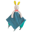 Doudou Attache-tétine Lapin Mademoiselle et Ribambelle Moulin Roty