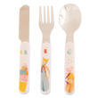 Set of baby cutlery - Les Tartempois Moulin Roty