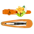 Elonora Orange Hair Clips - 2 pairs Souza for kids