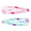 Anice Hair Clips - 2 pairs - pink/turquoise Souza for kids