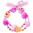 Bracelets Ciske rose/orange - Bijoux pour enfants Souza for kids