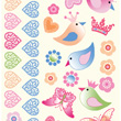Birds Tattoos for children (ephemeral) Souza for kids