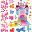 Castle Tattoos for children (ephemeral)