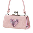 Pink Purse with shiny Heart - Julide Souza for kids