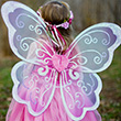 Whimsy Wonder Wings - Girl Costume Accessory Great Pretenders