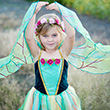 Fairy Blossom Dress - Costume for Girl ages 5-6