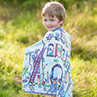 Colour-A-Cape Knight with 8 markers - Kid Costume Great Pretenders
