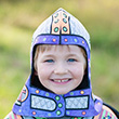 Colour-A-Knight Helmet with 4 markers - Kid Costume Great Pretenders