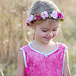 Forest Fairy Tunic, Pink - Costume for Girl ages 3-4
