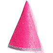 Pink Diamond Sparkle Hat - Girl Costume Accessory Great Pretenders