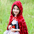 Little Red Riding Cape - Kid Costume ages 5-6