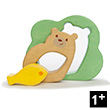 Baby Bear 3-piece Puzzle - Wooden Toy for Toddler Le Toy Van