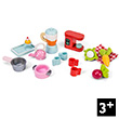 Tea Time Set Kitchen Accesory Pack - Accessories for dollhouses Le Toy Van