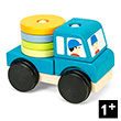 Truck Stacker - Wooden Toy