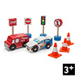 Road Set Route & Toot - Wooden Toy Cars and Accessories