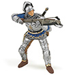 Blue crossbowman - Medieval Era Figurine