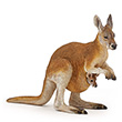 Kangaroo with joey - Papo Figurine