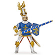 Blue knight fleur de lys - Toy Figurine Papo