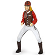 Trendy riding girl red - Toy Figurine Papo