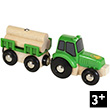 Tractor with trailer and load - BRIO Vehicles BRIO