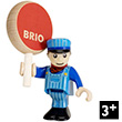 Personnage BRIO - Conducteur de train