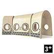 Triple Tunnel - Complement to the wooden train Hape Toys
