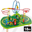 Table de circuit de train dans la jungle - Table d'activités Hape Toys