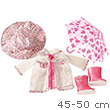 Rain Clothing Set for 46-50cm Doll