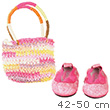 Shopping Bag and shoes for 42-50cm dolls and baby dolls Götz Dolls