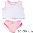 Pink Underwear Set for 30-50cm dolls and baby dolls
