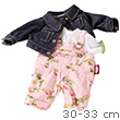 Rose Garden Clothing Set for 30-33cm baby doll Götz Dolls