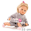 Bathbaby Girl Cosy Aquini Flowers 33 cm, with pacifier Götz Dolls