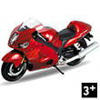 Moto Suzuki Hayabusa - 1:18 Toy Welly