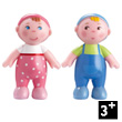 Babies Marie and Max Dolls - Little Friends Haba
