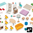 My Interior - Complete Furniture Set for Dollhouse Djeco