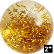 Kullerbü - Effect ball Gold Glitter Haba