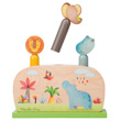 Pop up - Wooden Preschool Toy - Les Papoum Moulin Roty