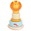 Stacking Lion - Wooden Toy - Les Papoum Moulin Roty