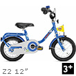 Puky Z2 Children's Bike (12 inch) - Blue Puky