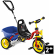 Tricycle Puky Cat 1 S - Rouge Puky