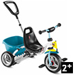 Tricycle Puky Cat 1 S - Blanc/Menthe Puky